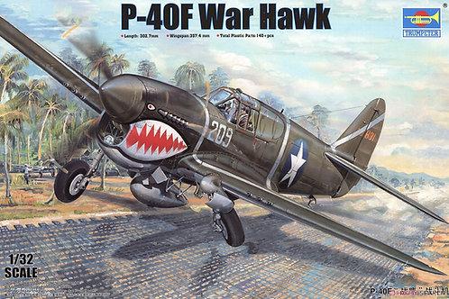 (под заказ) Самолет P-40F Warhawk - Trumpeter 1:32 03227