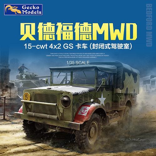 (под заказ) Bedford MWD 15-cwt 4x2 GS (closed cab) Truck - Gecko 35GM002 1:35