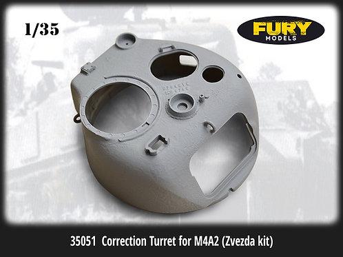 Правильная башня US M4 Sherman - 35051 Fury Models 1/35 (Miniarm)