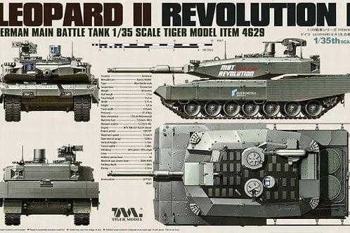 Германский танк Leopard IIRevolution I - Tiger Model4629 1:35