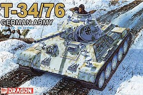 (под заказ) Трофейный танк Т-34-76, German Army - Dragon 1:35 6185