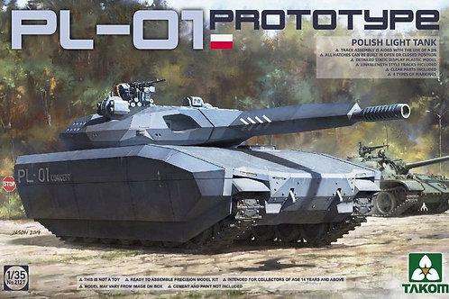 (под заказ) Польский танк (прототип) PL-01 - Takom 2127 1/35