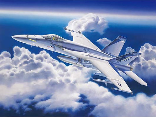 (под заказ) Самолет F/A-18E Super Hornet - Trumpeter 1:32 03204
