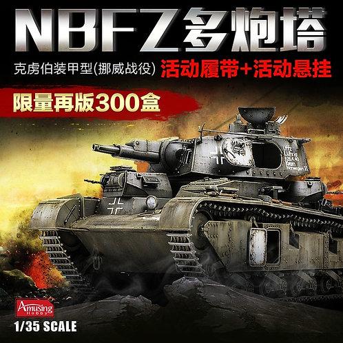 (под заказ) Танк NBFZ №6 Битва за Норвегию - Amusing Hobby 35A003 1/35