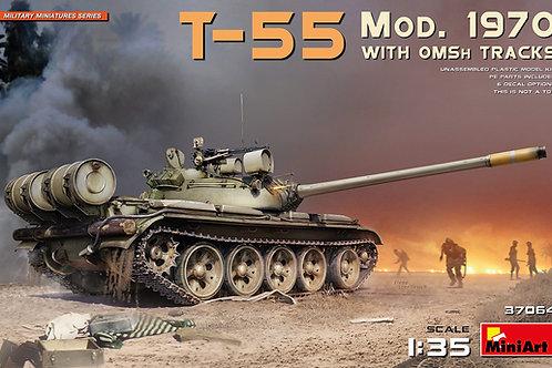 MiniArt 37064 1/35 Советский танк Т-55 мод. 1970 года с траками ОМШ