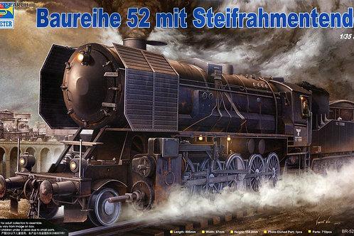 Немецкий паровоз BR52 с тендером - Trumpeter 1:35 00210