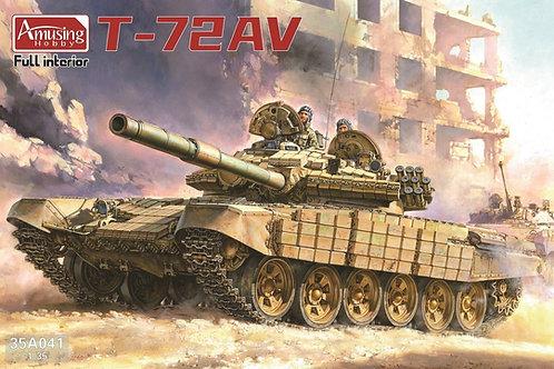 (предзаказ) 35A041 Советский танк Т-72АВ с полным интерьером Amusing Hooby 1:35