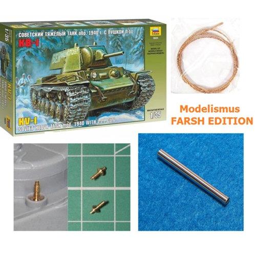 * FARSH Edition * КВ-1 1940 года с Л-11 - Звезда 3624 1/35 + БОНУСЫ