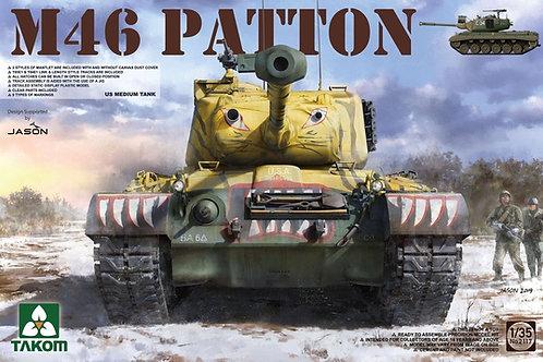 Американский танк M46 Patton Паттон - 2117 Takom 1/35