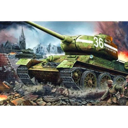 Танк Т-34/85 мод. 1944 года, завод № 183 - Trumpeter 1:16 00902
