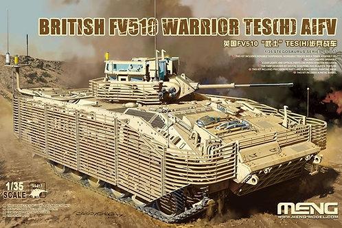 Британская БМП Уорриор FV510 Warrior TES (H) - Meng Model SS-017 1/35