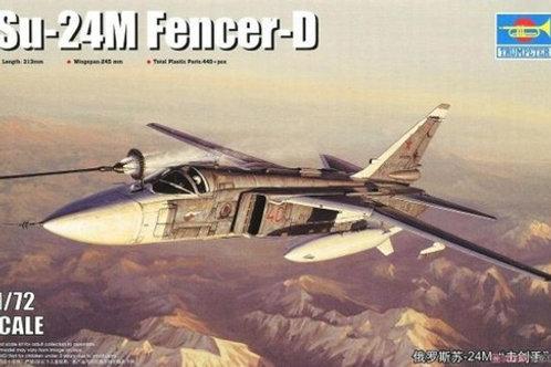 Самолет Су-24М Сухой, Su-24M Fencer-D - Trumpeter 01673 1:72