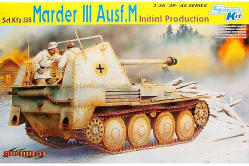 (под заказ) Sd.Kfz. 138 Marder III Ausf. M Initial Production - Dragon 1:35 6464