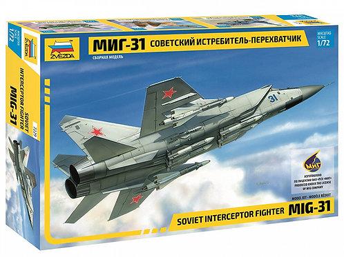 7229 Звезда 1/72 Советский истребитель-перехватчик МиГ-31