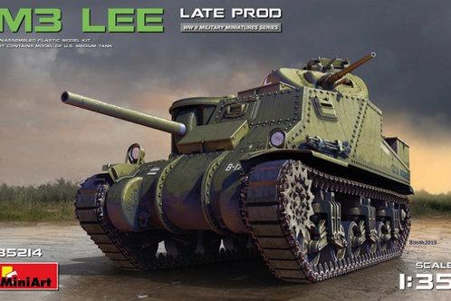 "35214 MiniArt 1/35 Американский танк M3 Lee (""Ли"") поздний выпуск"