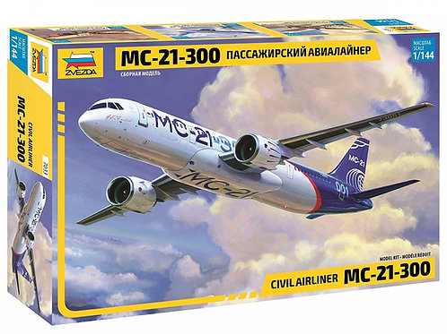7033 Звезда 1/144 Российский пассажирский авиалайнер МС-21-300