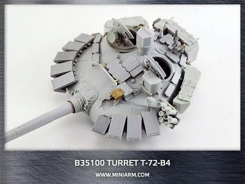 Башня Т-72Б4 мод. 2014 г, включает детали фототравления - MINIARM B35100 1/35