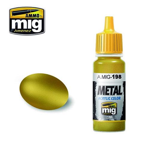Ammo Mig AMIG-0198 GOLD металлик золото 17 мл