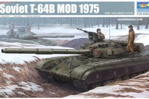 Советский танк Т-64Б мод. 1975 года - Trumpeter 01581 1/35