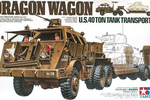 Тягач M26 Dragon Wagon U.S. 40 Ton Tank Transporter - Tamiya 1:35 35230
