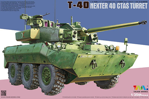 T-40 Nexter 40 CTAS Turret - TIGER MODEL 4665 1/35