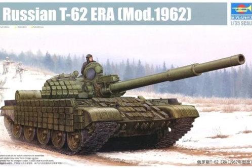 Советский танк Т-62 (мод. 1962) с динамической защитой - Trumpeter 01555 1/35