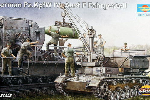 (под заказ) German Pz.Kpfw. IV Ausf. F Fahrgestell - Trumpeter 1:35 00363
