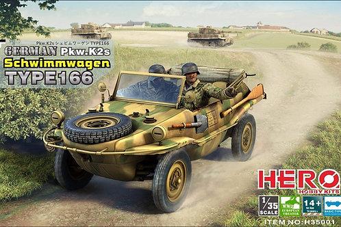 Швимваген Тип 166 - Hero H35001 1/35 - под заказ