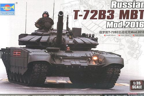 Российский танк Т-72Б3 мод. 2016 года - Trumpeter 1:35 09561