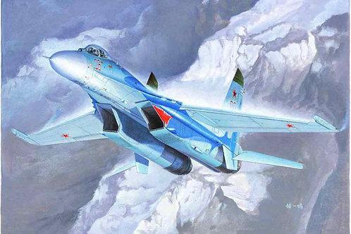 Самолет Сухой Су-27, Su-27 Flanker B Fighter - Trumpeter 1:72 01660