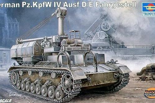 (п/заказ) Транспортер боеприпасов Pz. IV Ausf. D/E Fahrgestell - Trumpeter 00362