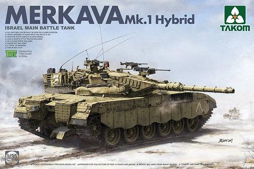 Merkava Mk.1 Hybrid / Меркава Гибрид - Takom 2079 1:35
