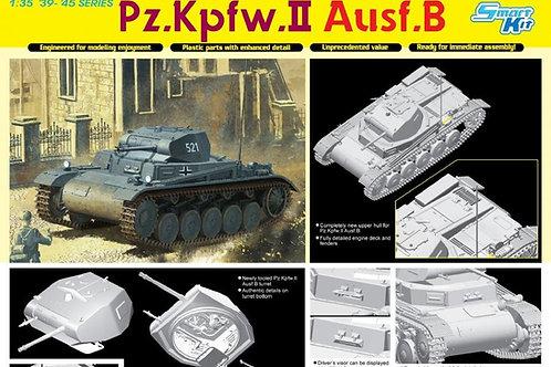 Немецкий танк Pz.Kpfw.II Ausf.B - Dragon 6572 1:35