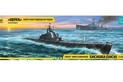 """9041 Звезда 1/144 Советская подводная лодка """"Щука"""""""
