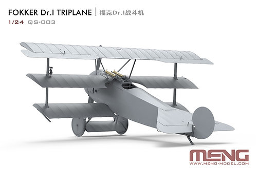 (предзаказ) MENG Model QS-003 1/24 Немецкий триплан Фоккер Fokker Dr.I Triplane