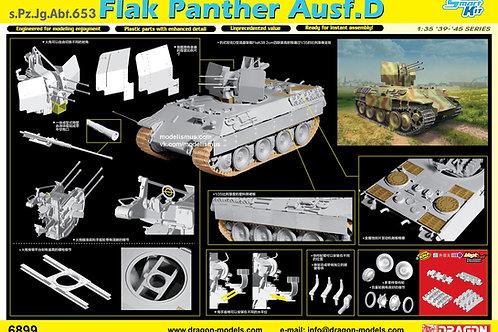 (под заказ) Флакпантера 653 батальона - Dragon 1:35 6899 + наборные Magic траки