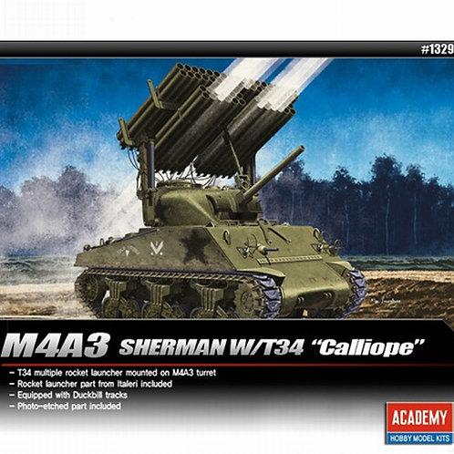 "Танк M4A3 Sherman с РСЗО ""Каллиопа""- Academy 1:3513294"