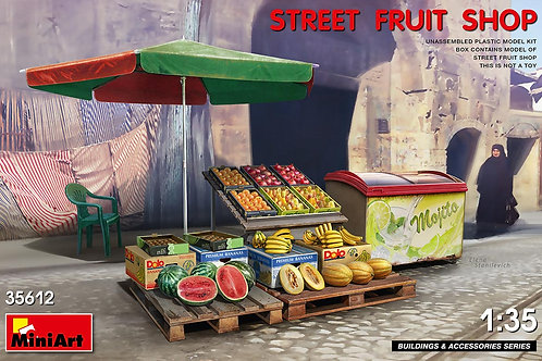 35612 MiniArt 1/35 Уличный прилавок с фруктами