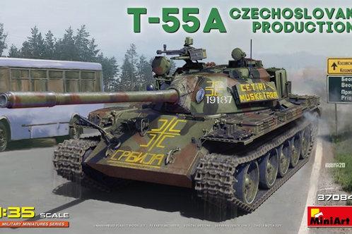 (под заказ) Советский танк Т-55А производства Чехословакии - Miniart 37084 1/35