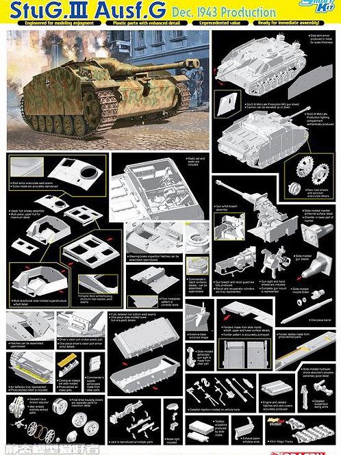 StuG.III Ausf.G Dec 1943 Production (Magic траки) - Dragon 1:35 6581