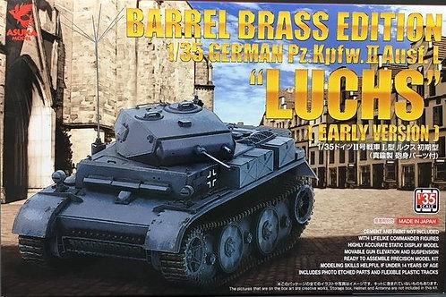 Немецкий танк Luchs (Рысь) ранний выпуск - ASUKA / Tasca 35038 1/35