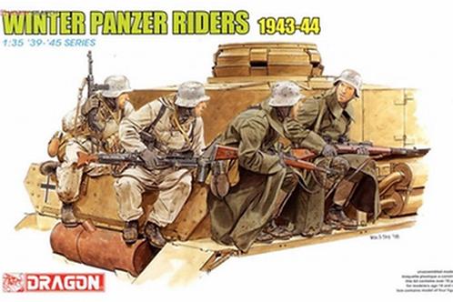 (под заказ) Немецкий танковый десант, зима 1943-1944 - Dragon 1:35 6513