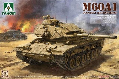 Американский танк M60A1 с активной броней - Takom 2113 1:35