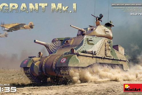 Британский танк Грант GRANT Mk.I - MiniArt 35276 1/35 (без интерьера)