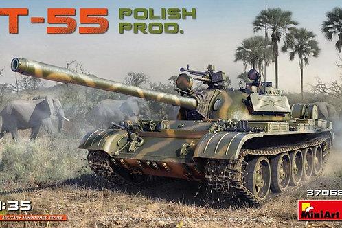 37068 MiniArt 1/35 Танк Т-55, производство Польши