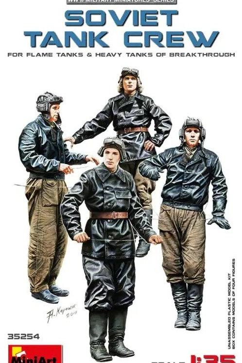 Советские танкисты (огнеметный и тяжелый танк) - MiniArt 1:35 35254