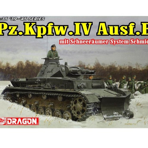 (под заказ) Pz.Kpfw.IV Ausf.B с отвалом - Dragon 6764 1/35