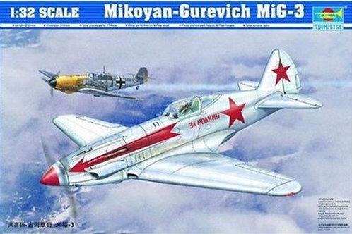 Советский истребитель МиГ-3 - Trumpeter 02230 1/32