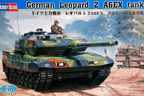 Немецкий Леопард 2а4 ЕХ, German Leopard 2A6EX Tank - Hobby Boss 1:35 82403