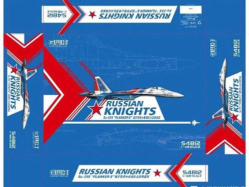Самолет Су-35С пилотажные Русские Витязи - S4812 GWH Great Wall Hobby 1:48